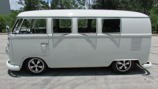 Volkswagen Fort Myers >> GERMAN 1967 TYPE 2 8 PASSENGER 11 WINDOW KOMBI MICROBUS RESTORED LOWERED FUCHS for sale in Fort ...