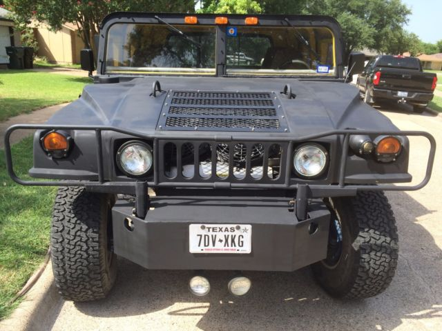 H1 Hummer HMMWV TRex H1 Hummer 4WD Gas 5.7L 350CI GM for ...