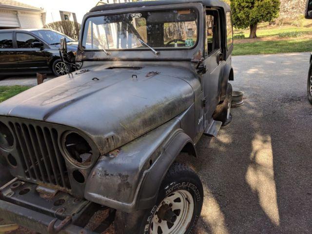 Historic 1986 Jeep CJ7 - Rebuild Project Jeep - Matching