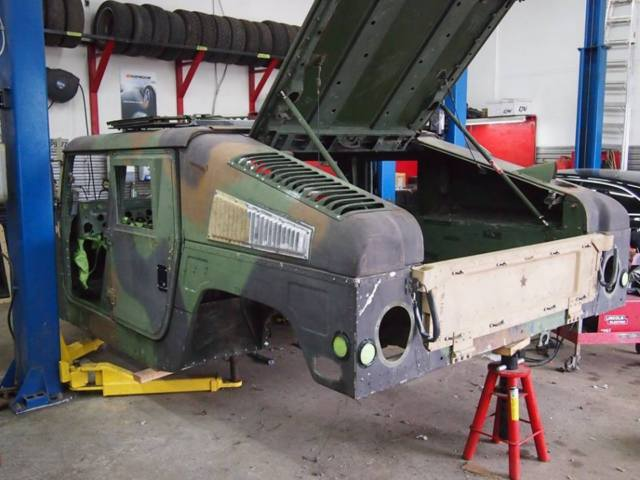 Tow Truck For Sale Canada >> Humvee Hmmwv Hummer H1 M1045 ARMOR 6.5 Turbo for sale in ...