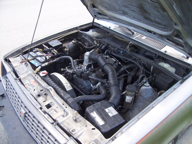 Isuzu I Mark Diesel 1 8 5 speed 99K original miles Rare