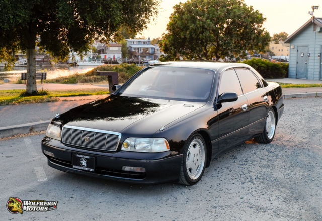 JDM 1992 Toyota Crown Majesta 4-door VIP Right Hand Drive! Titled