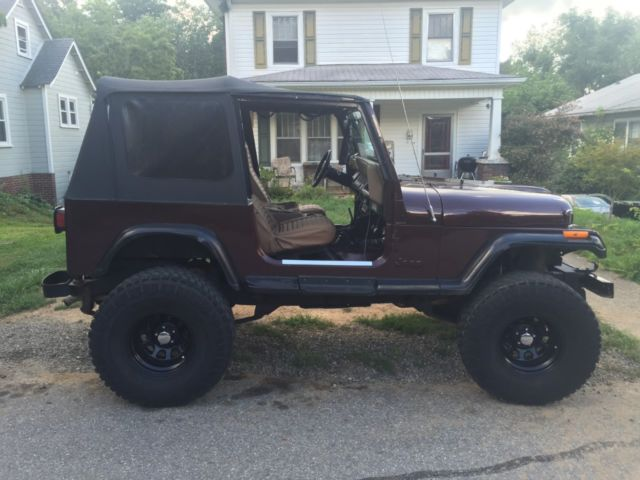 jeep wrangler 88 yj with a cj7 front end swap for sale in. Black Bedroom Furniture Sets. Home Design Ideas