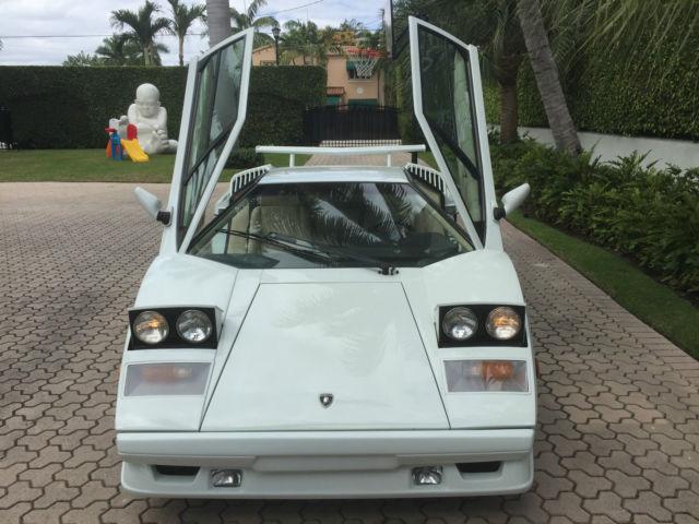 Lamborghini Countach 1989 25th Anniversary Wolf Of Wall Street