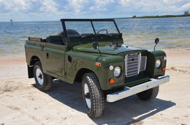 land rover series 3 pre defender for sale in clearwater florida united states. Black Bedroom Furniture Sets. Home Design Ideas