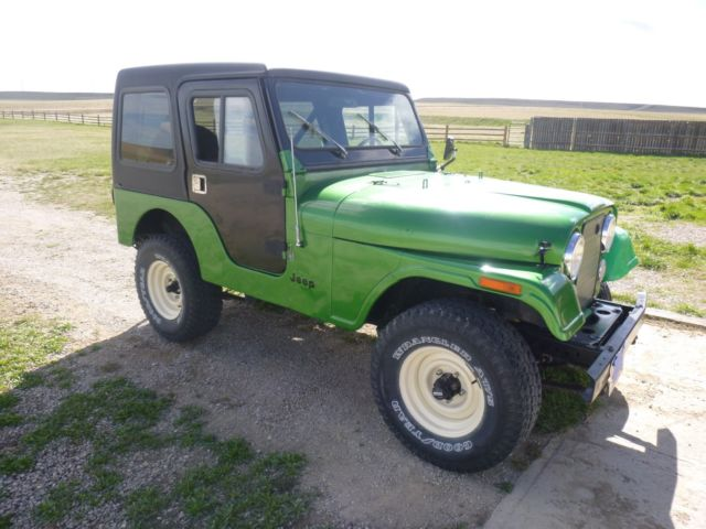 low mileage 1983 jeep cj5 for sale in judith gap montana. Black Bedroom Furniture Sets. Home Design Ideas