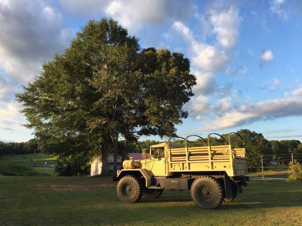 m35a2 bobbed deuce military truck restored lifted monster