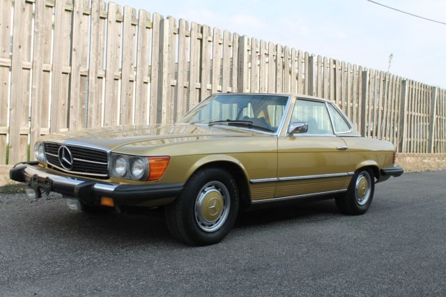 Mercedes benz 450sl hard top convertible for sale in for Hardtop convertible mercedes benz