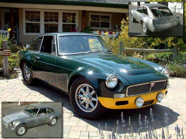 MG: 1968 MGC GTS Tribute Car - 100% Steel Body for sale in