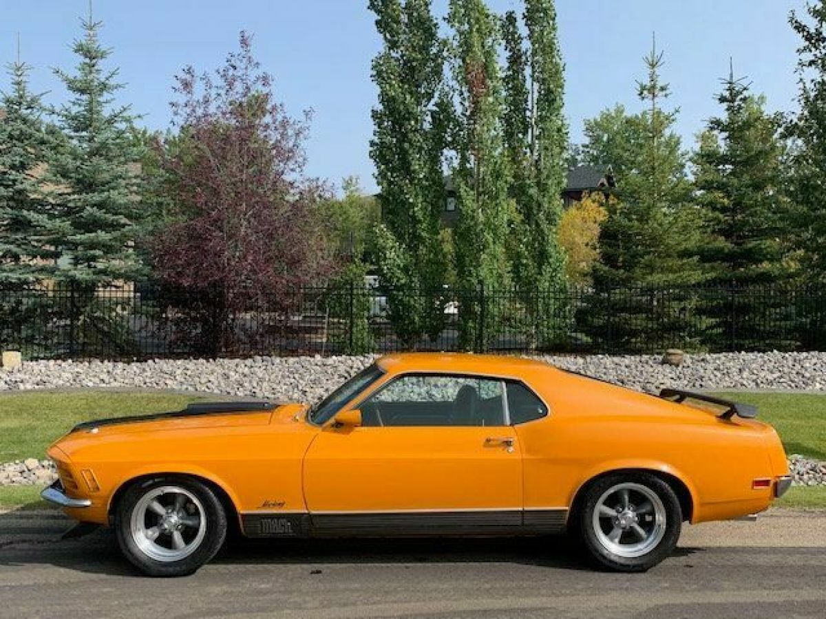 NO RESERVE 1970 FORD MUSTANG MACH I MARTI REPORT GRABBER ...