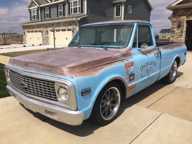 No Reserve 71 Chevy C10 Restomod Built 350 Patina Done Right For Sale In Champaign Illinois