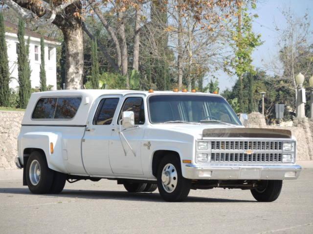 ORIGINAL 1 Owner 1982 Chevy Silverado 3500 Crew Cab Dually