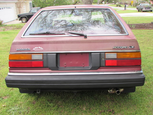 Honda Anderson Sc >> Original Low Mileage 1982 Honda Accord LX Hatchback **NO RESERVE** for sale in Anderson, South ...