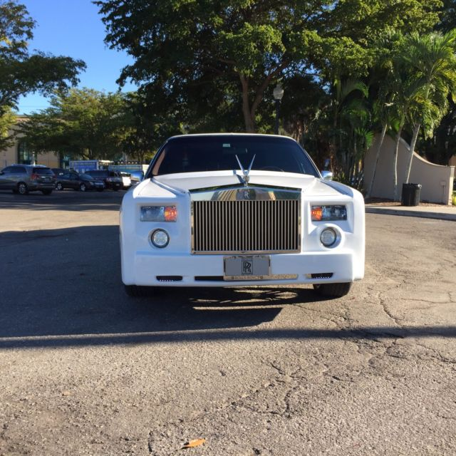 Lincoln Limo For Sale: Phantom Rolls Royce Lincoln Conversion Limousine For Sale