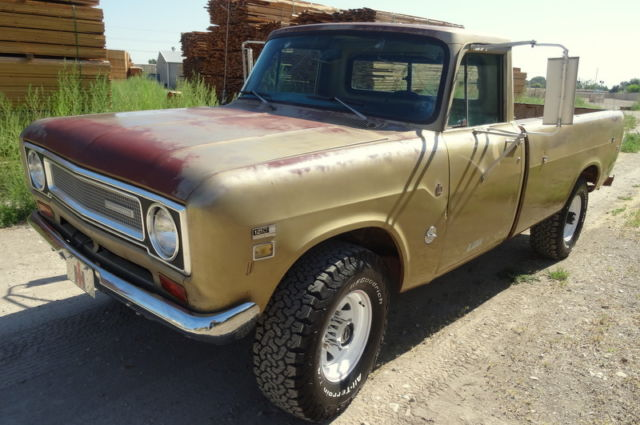 Rare 1971 International Pickup 1210, Camper Special, 4x4
