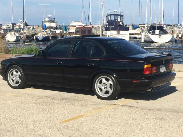 Rare Black on Black last of the handbuildt E34 BMW M5's with Dinan