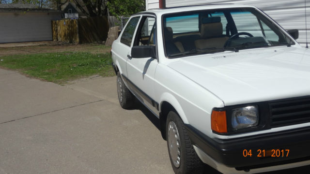 rare classic 1989 volkswagen fox gl 2 dr coupe for sale in la crosse wisconsin united states. Black Bedroom Furniture Sets. Home Design Ideas