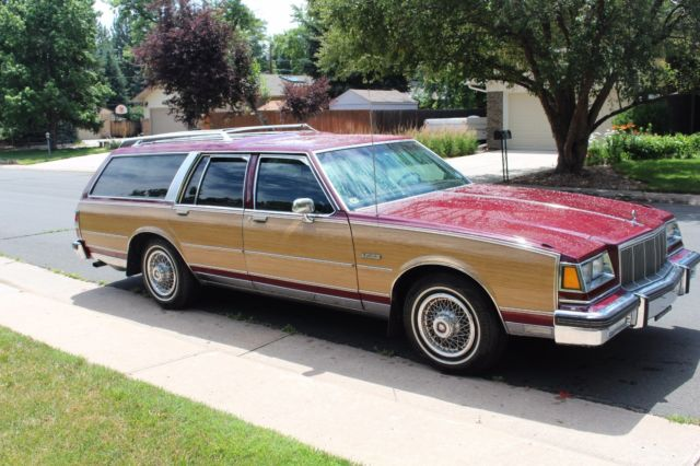 rare pristine 1988 buick lesabre electra estate station wagon for sale in littleton colorado. Black Bedroom Furniture Sets. Home Design Ideas