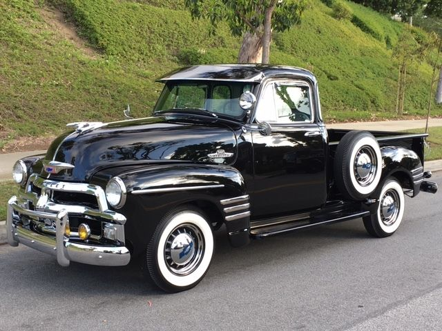 Rare restored 1954 1955 chevrolet early series 3100 for 1954 chevy 3100 5 window
