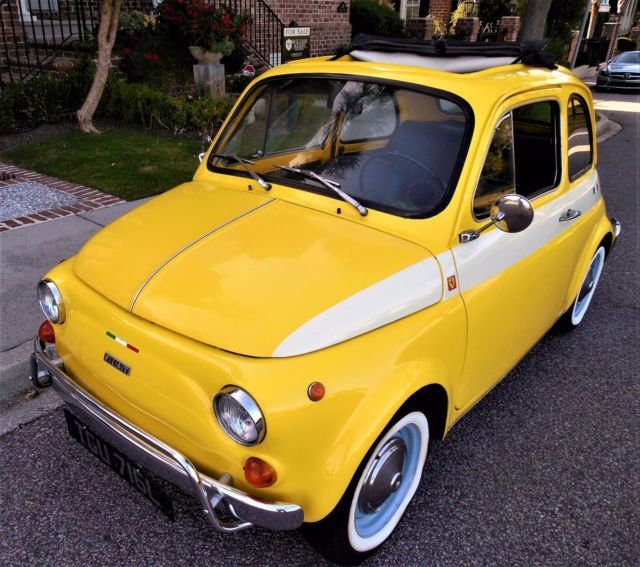 STUNNING 1972 FIAT 500 CINQUECENTO For Sale In Mount