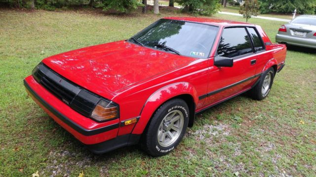 toyota celica gt s rwd 5 speed coupe red with rare black leather low miles for sale in. Black Bedroom Furniture Sets. Home Design Ideas