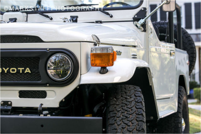 Toyota Land Cruiser FJ40 fully restored to better than new