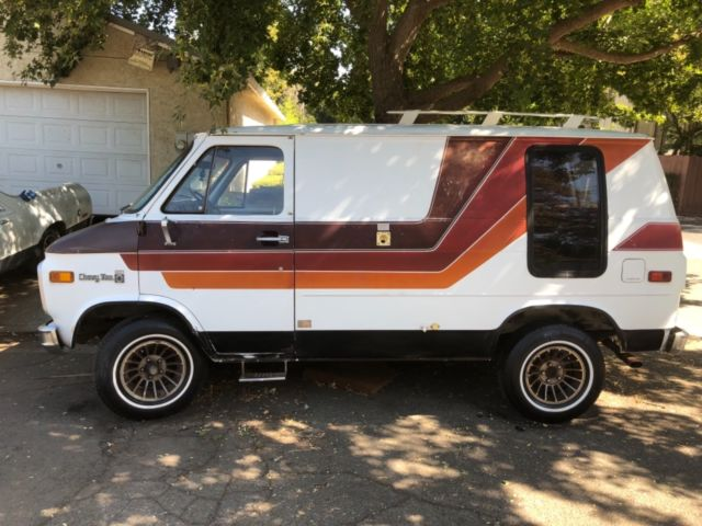 Used Chevy shorty van for sale in Chico, California, United States