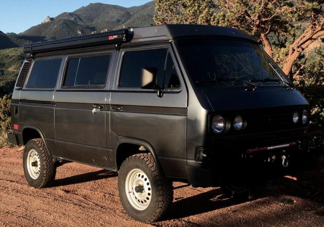 Vanagon syncro westfalia restored subaru engine for sale for Colorado springs motor vehicle registration