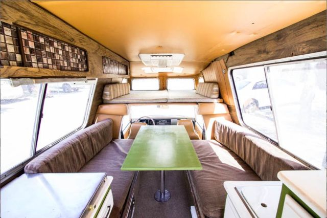 Very Rare 1978 Toyota Chinook RV Camper for sale in Pasadena