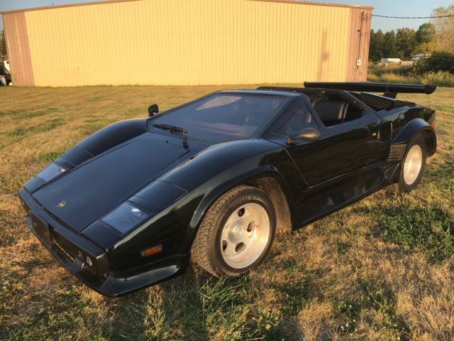 Very Rare Lamborghini Countach Replica Kit Car Cost 000