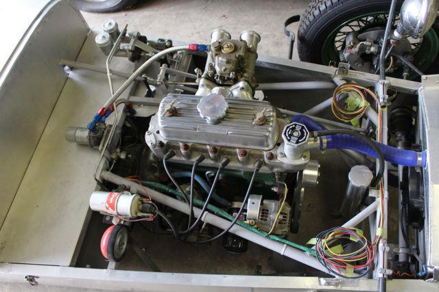 vintage lotus seven series 2 1964 race car 7 frame engine weber carb rare