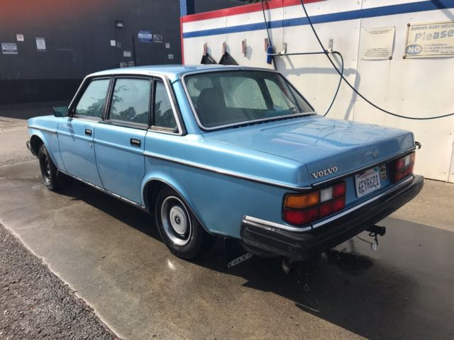 Volvo 240 For Parts Or Restoration Driveable Leaks Coolant Lots Of New Parts For Sale In