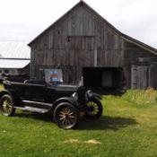 1927 model t touring car
