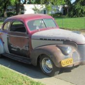 1940 CHEVY SPECIAL DELUXE BUSINESS COUPE for sale in