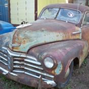 1948 Chevrolet Fleet Master Coupe, Rat Rod Project Or