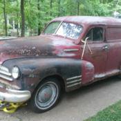1948 Chevrolet Sedan Delivery barn find for sale in
