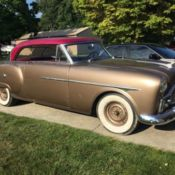 1952 packard parts car for sale in shelbyville indiana for 1952 packard 4 door sedan