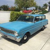 1962 Ford Falcon 2 Door Station Wagon for sale in Holbrook