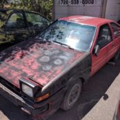 1986 Toyota Corolla GTS Rolling Chassis AE86