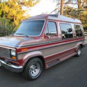 1989 ford e 150 econoline conversion van 139k orig miles 5 0l efi