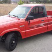 1993 Mazda B2200 Mini Truck Bag Project for sale in