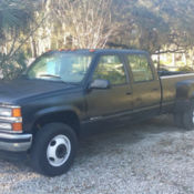 94 CHEVROLET 3500 CREW CAB W/ 454!!!!! CLEAN for sale in