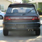 1990 Toyota Starlet GT Turbo EP82 65500 Miles 1 3 liter 4E